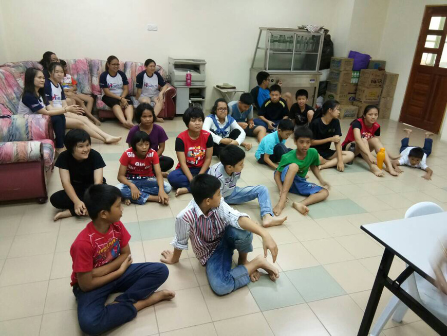 VISIT TO MIRI METHODIST CHILDRENS HOME