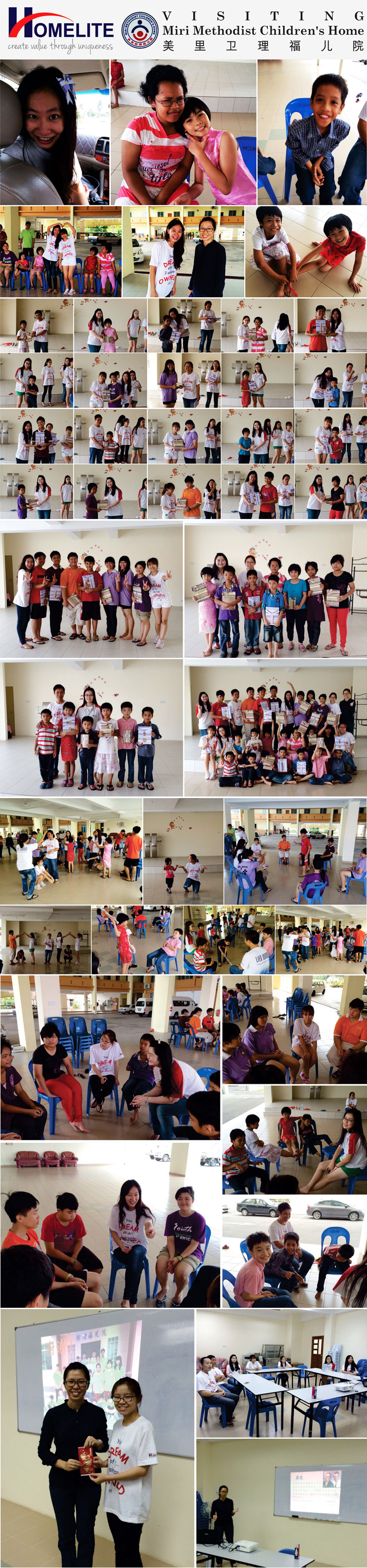 VISITING MIRI METHODIST CHILDRENS HOME
