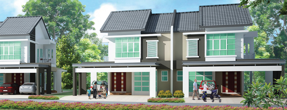 Homelite Resort Double Storey Semi Detached House