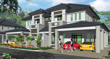 Homelite Resort Double Storey Semi Detached