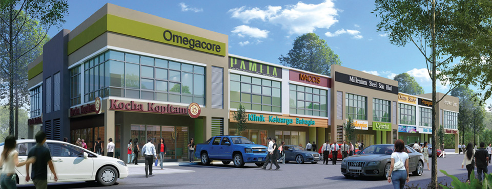 New Kimanis Town - Two Storey Commercial Shoplot Specifications